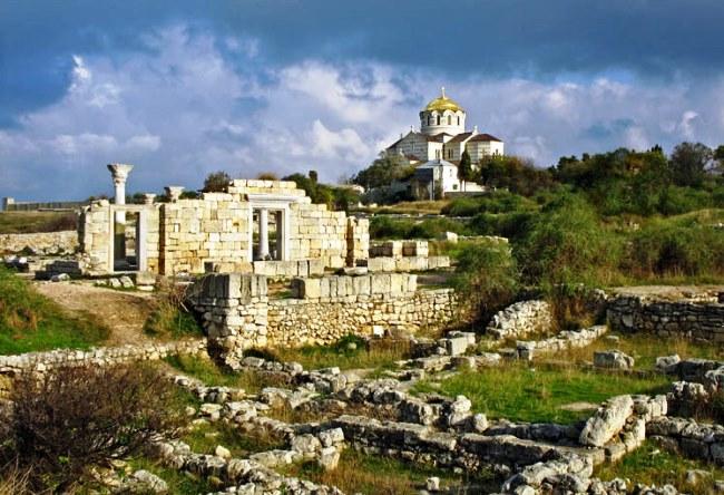 Древний город Херсонес