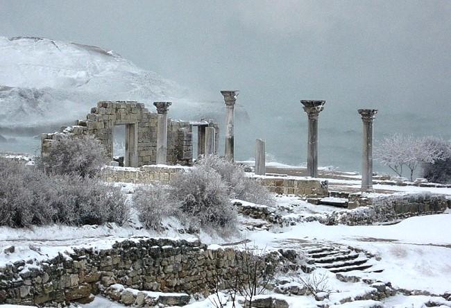 Древний город Херсонес 5