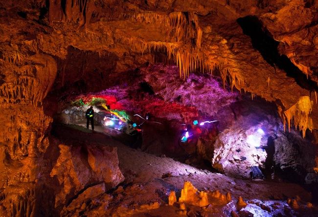 Женевская пещера близ города Дивногорск 3