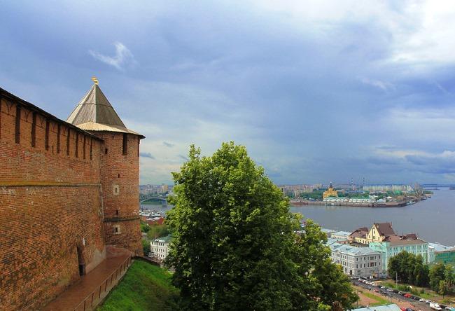 Нижний Новгород – город на холмах