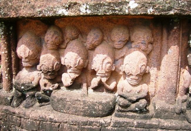 Скульптуры острова Нуку-Хива 3