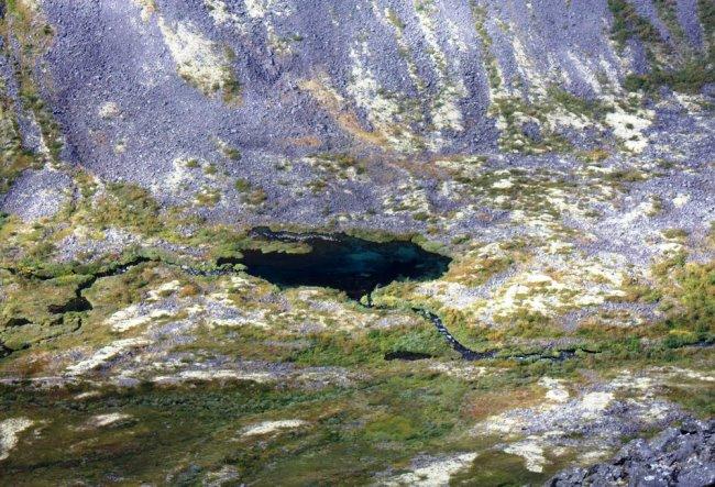 Мистическое озеро Райявр на Кольском
