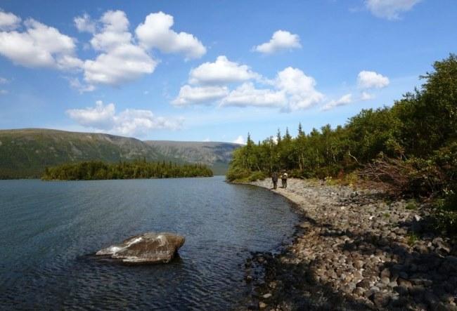 Мистическое озеро Райявр на Кольском 4