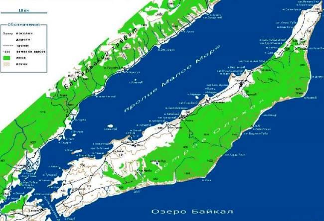 Сердце Байкала  остров Ольхон 2