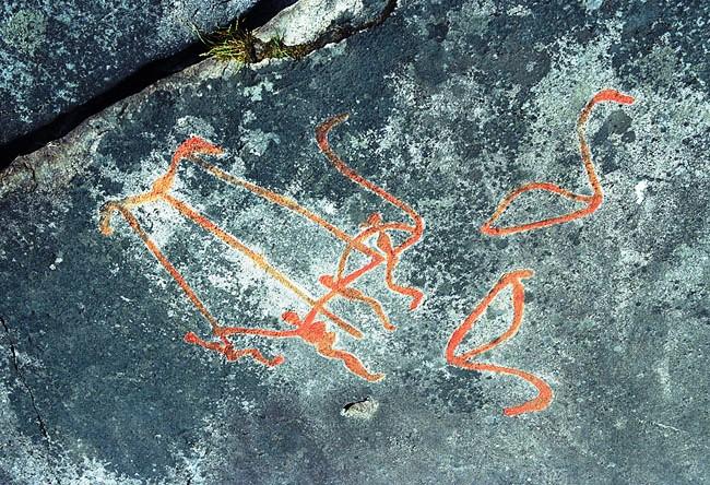 Петроглифы Онежского озера 5