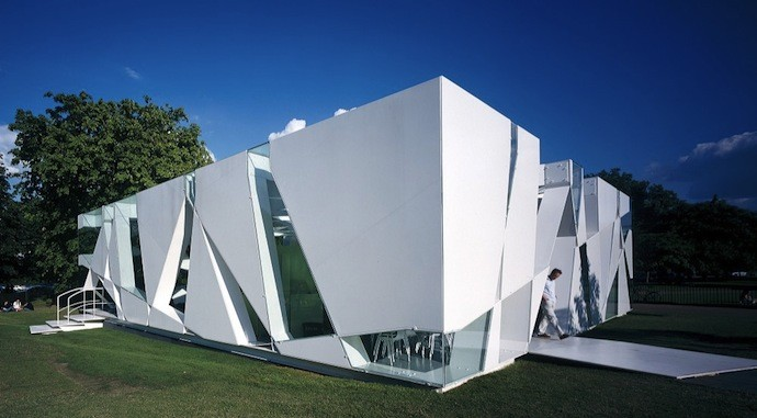 Toyo Ito. Pavilion Gallery Serpentine, 2002
