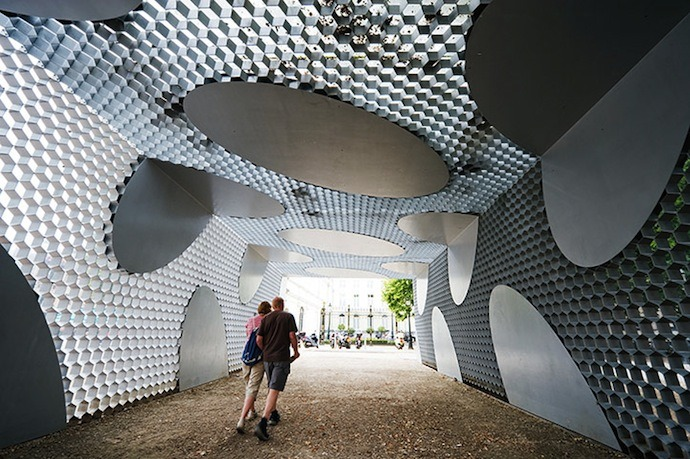 Toyo Ito pavilion in Bruges