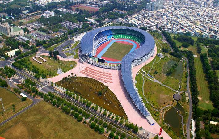 Национальный стадионв Гаосюне, Тайвань, (2006-2009)