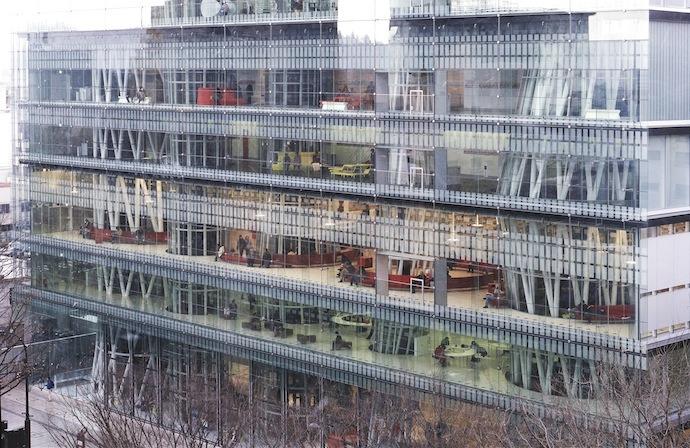 Mediatheque in Sendai, (2000)