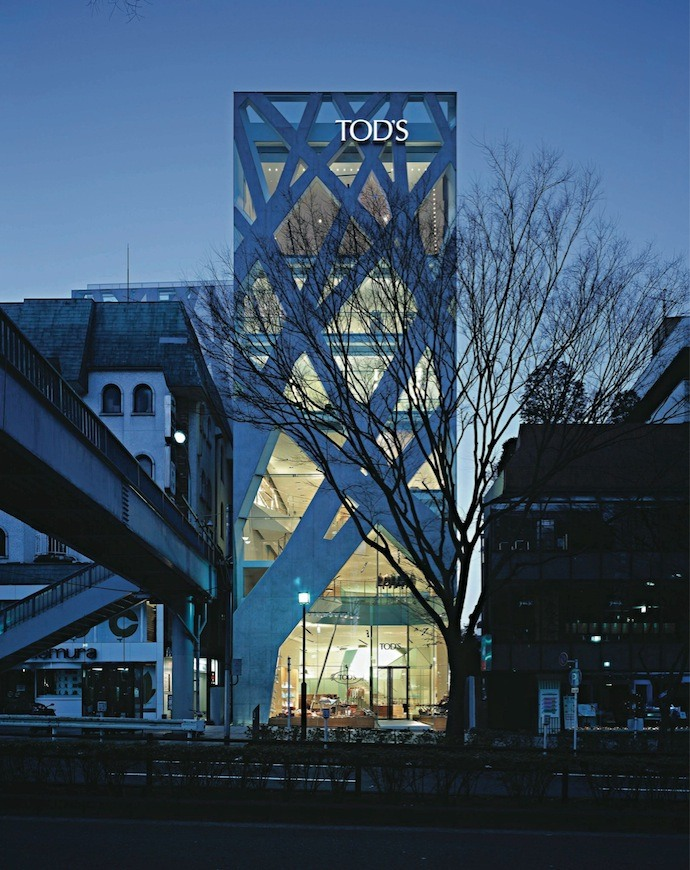 TOD's shop in Tokyo (2004)