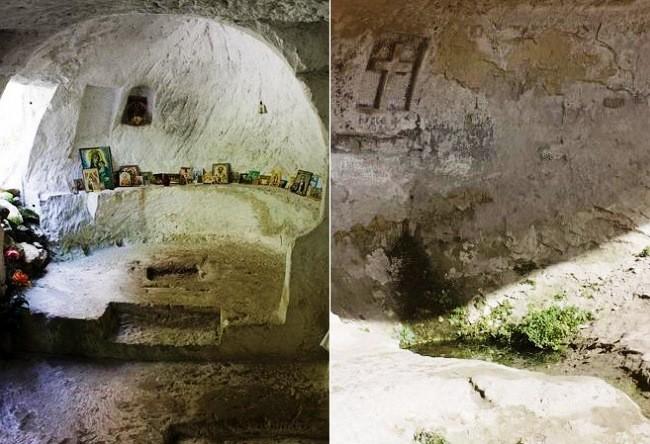 Cave monastery Kachi Kalon 2