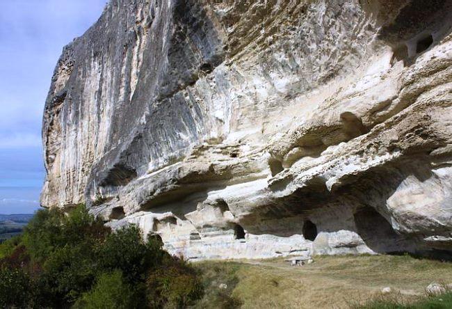 Cave monastery Kachi Kalon 4