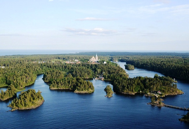 The monastery Valaam Island 3
