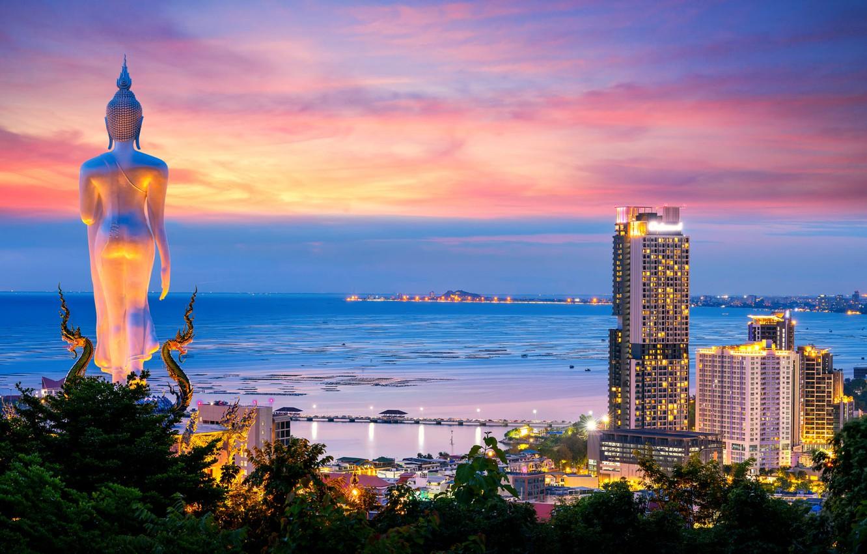 tailand-priroda-peizazh-more-poberezhe-doma-zdaniia-noch-sta