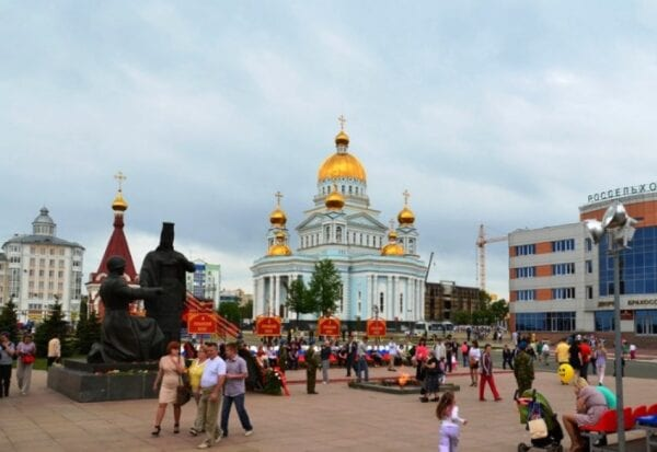 Old Russian town Saransk – the capital of Mordovia