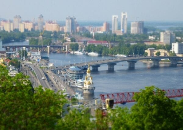 Kiev is the capital of Ukraine