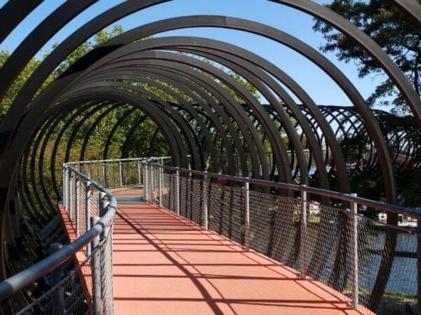 Spiral Bridge in Oberhausen