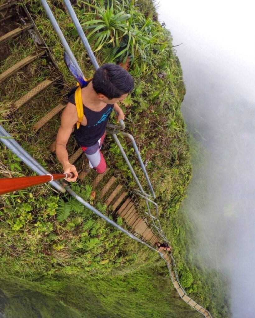 Самые опасные лестницы в мире