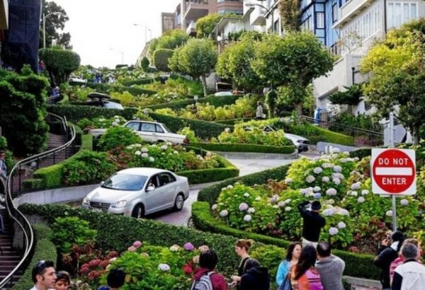 Lombard Street: the most winding street in the world
