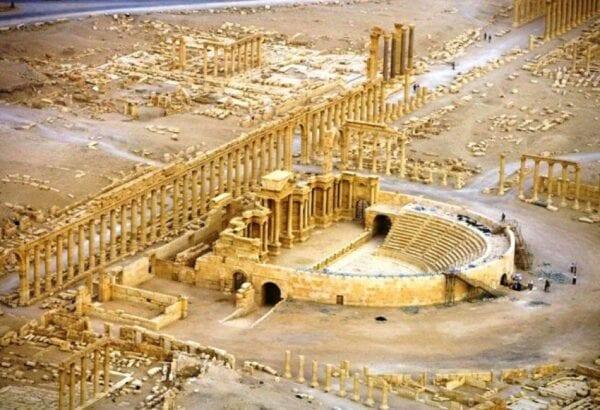 Syria, the ancient city of Palmyra