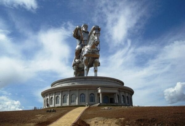 Statue of Genghis Khan, near Ulaanbaatar