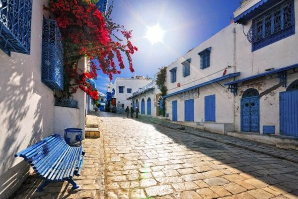 Сиди-Бу-Саид. Синий город Туниса