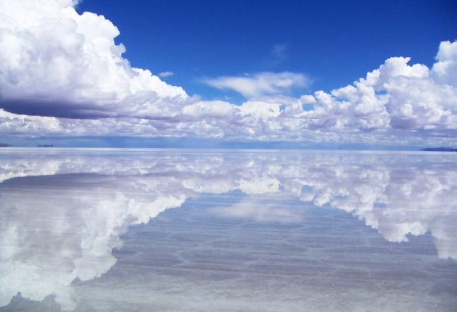 Salt Mirror Salar De Uyuni