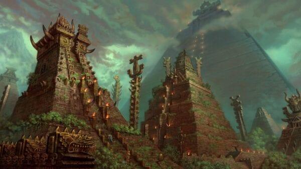 Пирамиды народов ацтеков и майя
