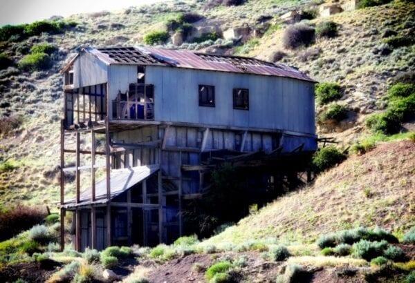 Radon mines in Montana