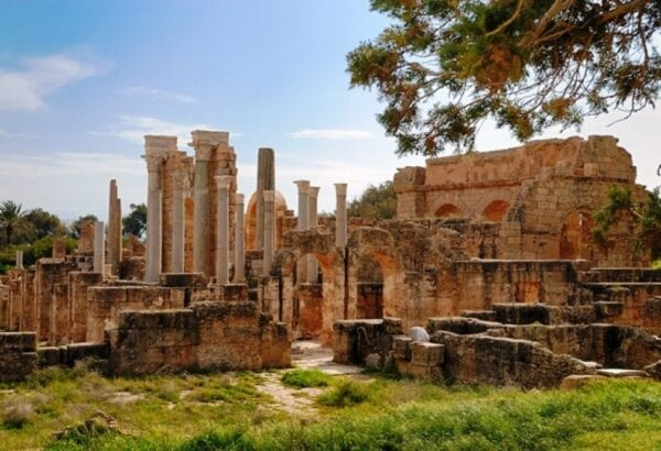 Leptis Magna – an abandoned ancient city