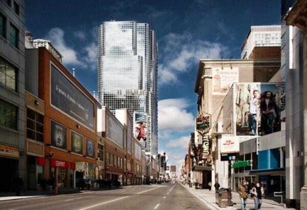 The longest street of Yonge Street
