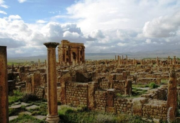 Roman city in North Africa – Timgad