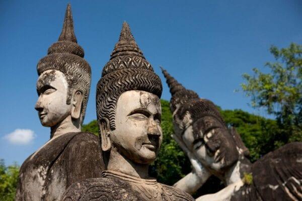 Будда-парк в Лаосе