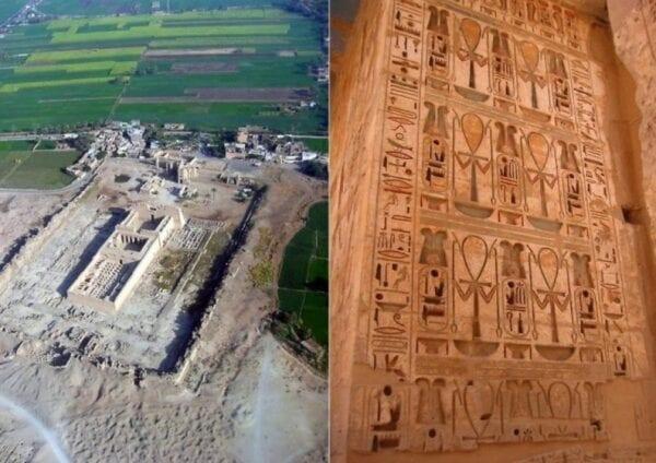 Памятники Африки: храм Мединет-Абу в Луксоре