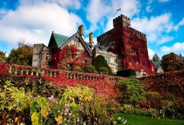 Vancouver, castle Hatley