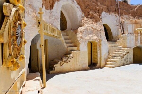 Загадочный Тунис. Пещерный город Матмата