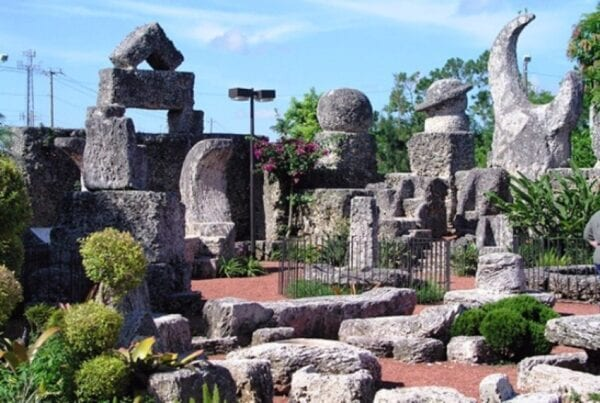 Coral Castle, megalithic mystery remained a mystery