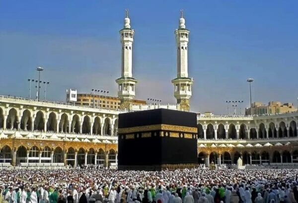 The main Muslim sanctuary – Kaaba
