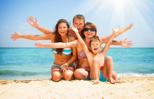 Семейный отдых летом за границей