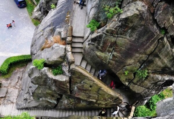 German Stonehenge – Externsteine