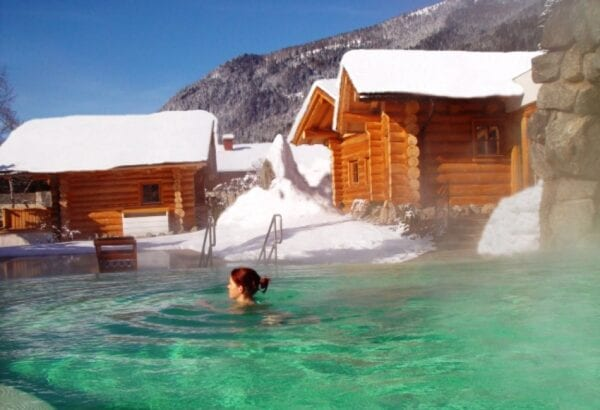 Thermal waters of Austria