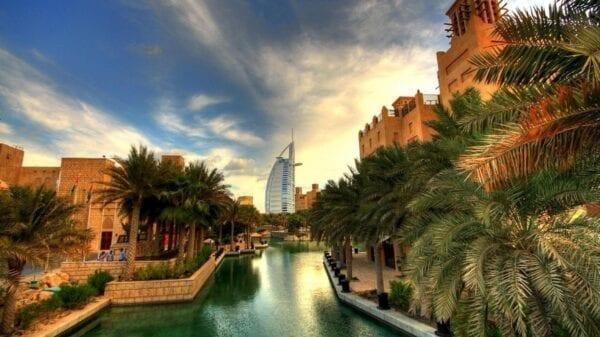 Какая погода в Эмиратах в январе