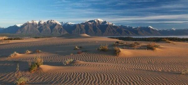Туризм в России: пустыня Чара в Сибири