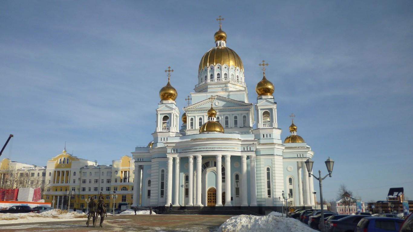 Древнерусский город Саранск  столица Мордовии 2