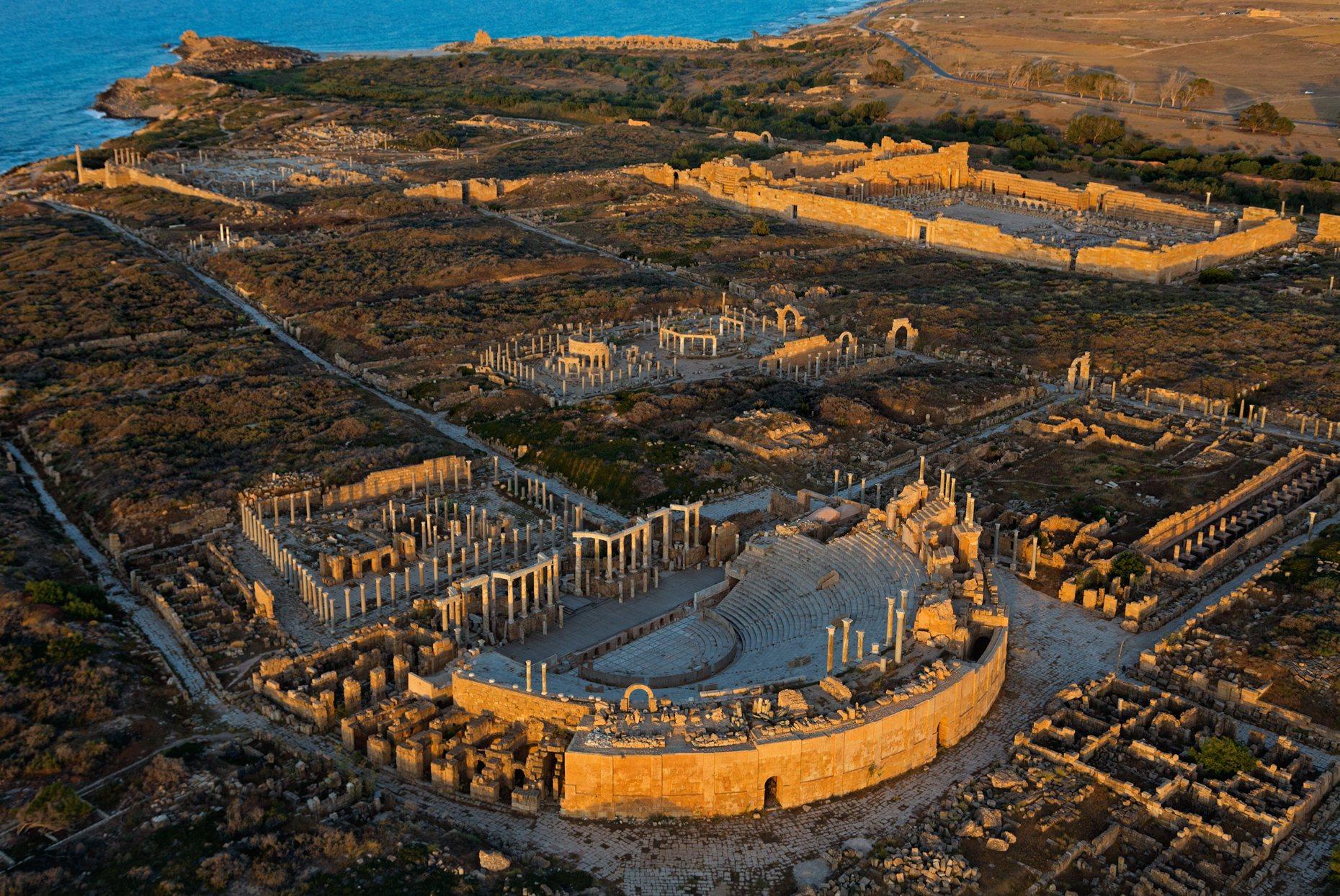 Интересные места Африки древний античный город Лептис-Магна 5