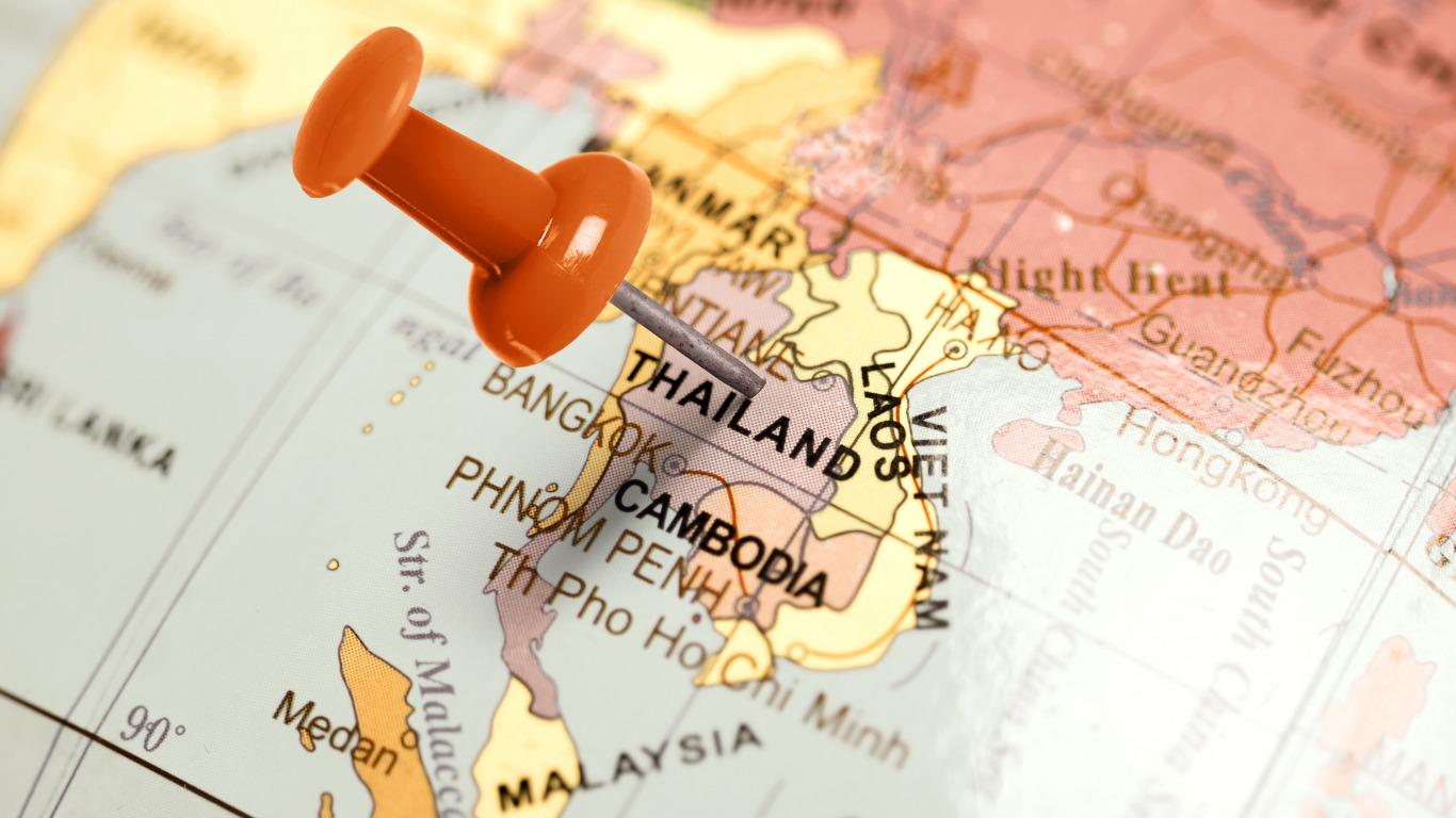 карта таиланд