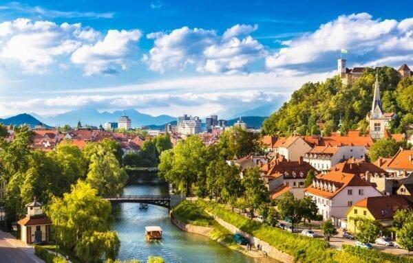 Самая маленькая столица Европы: Любляна
