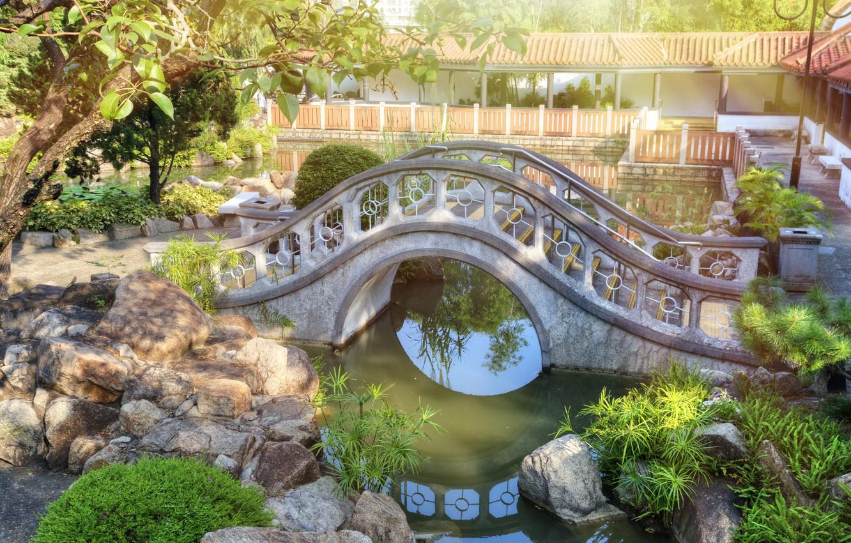 hong-kong-china-parks-bridges-stones-chi-lin-gonkong-kitai-m