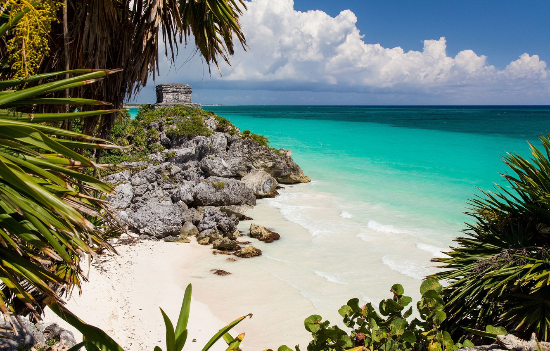 pliazh-ruiny-meksika-okean-mayan-ruins-caribbean-sea-tulum-m