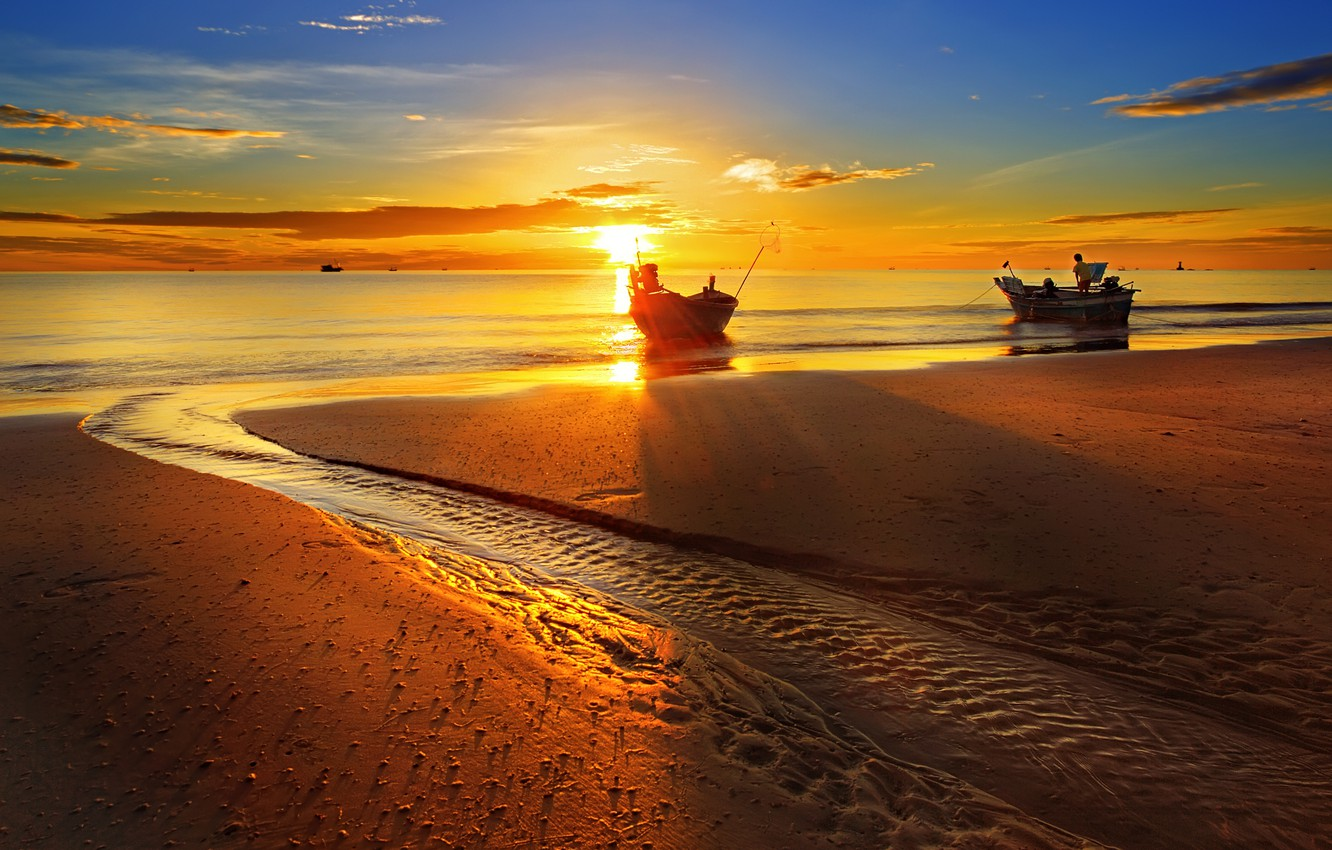sunset-hua-hin-beach